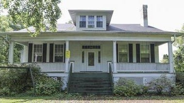 The Louisville Metro Council is reviewing a controversial Metro Landmarks Commission decision to designate this Highlands house as a local landmark at 2833 Tremont  Drive