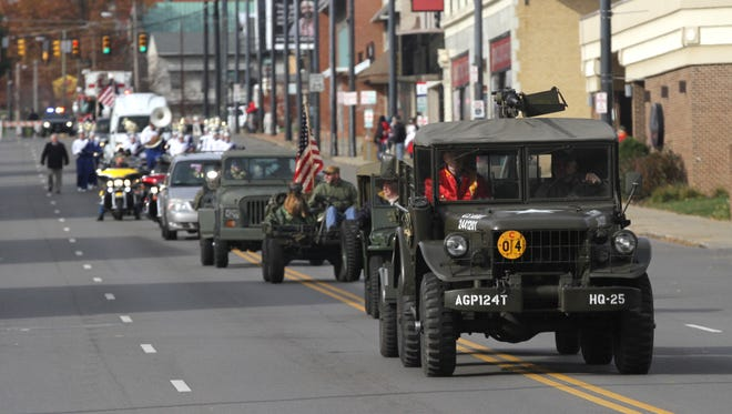 The 2018 Veterans Day Parade in Mansfield on Sunday has been canceled due to cold weather.