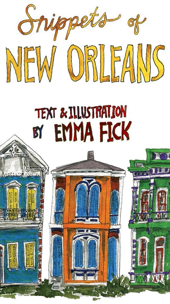"""Snippets of New Orleans,"" published by the University"
