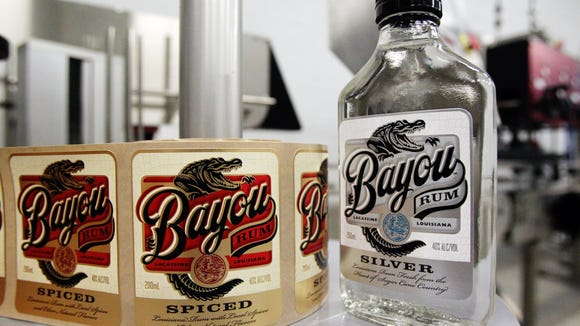 Bayou Rum Distillery in Lacassine produces silver and