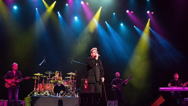 The audience joined in with Chuck Negron as he sang the well-known Three Dog Night songs Joy to the World and One.