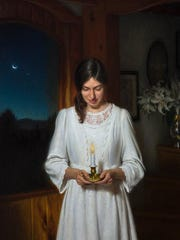 Marias Wish by Joseph Q. Daily - oil on linen, 36x55