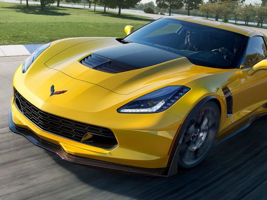 """The 2015 Corvette Z06, which GM product chief Mark Reuss has called """"the Big Nasty,"""" will deliver sophisticated aerodynamic downforce and at least 625 hp. from a new supercharged V-8."""
