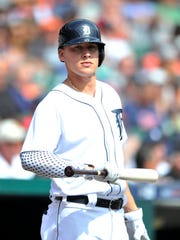 JaCoby Jones needs more time in Triple A before he