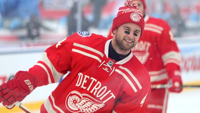 Red Wings defenseman Jakub Kindl