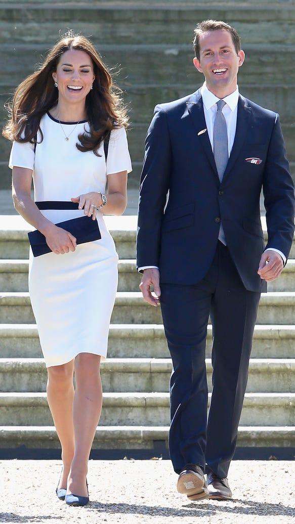 Duchess Kate and Ben Ainslie