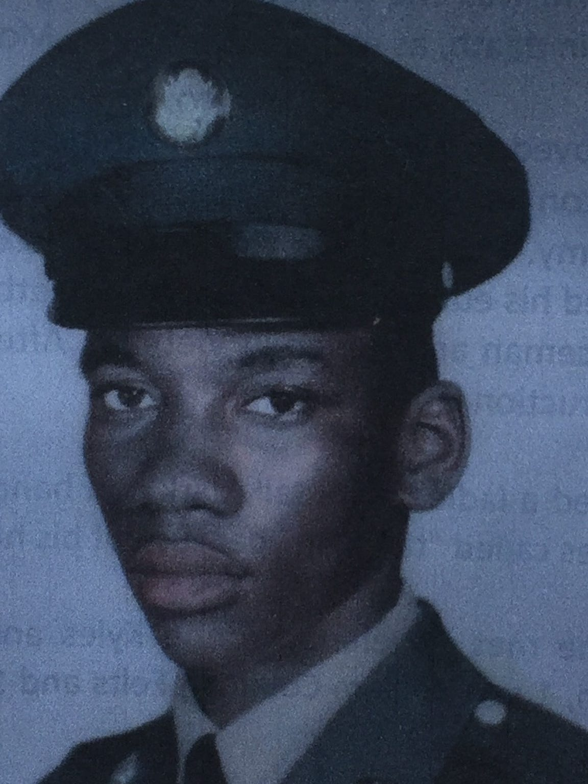 Coleman Felts served in the U.S. Army as a young man. This photo was on the cover of his funeral program. Felts wandered from the Golden Glades Nursing and Rehabilitation Center in Miami in December 2015 and drowned in a lake.