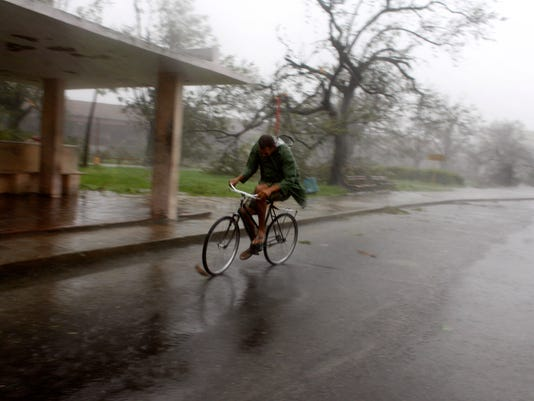 sby bike in rain