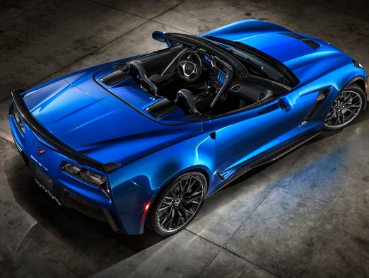 2015 Chevrolet Corvette Z06 will be a performance convertibles, offering at least 625 hp, 0-60 acceleration in under 3.5 seconds