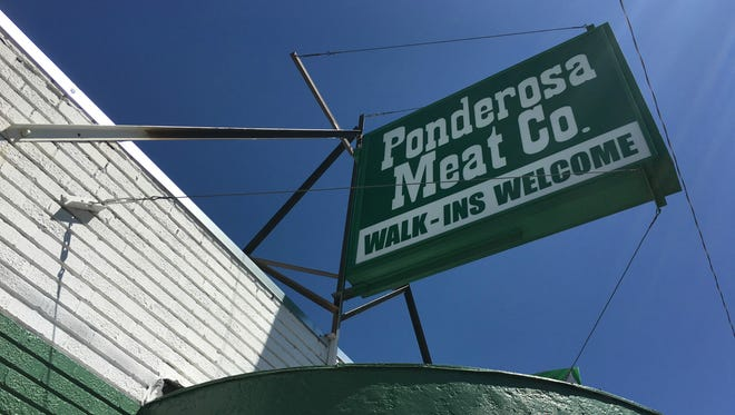 A photo of Ponderosa Meat Co. taken Aug. 3, 2016 in Reno.