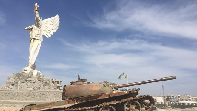 In northern Syria on March 26, 2017.