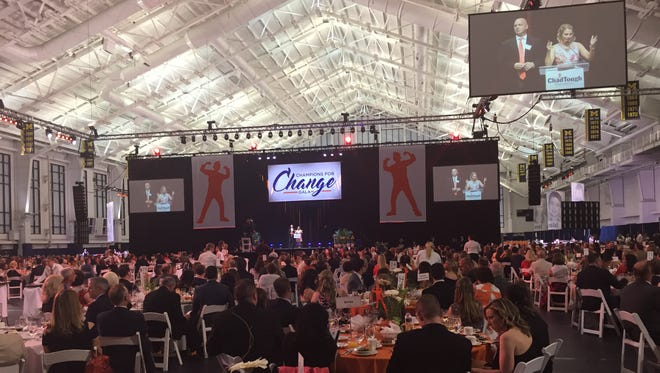 ChadTough gala at Michigan's Glick Family Fieldhouse on May 13, 2017.
