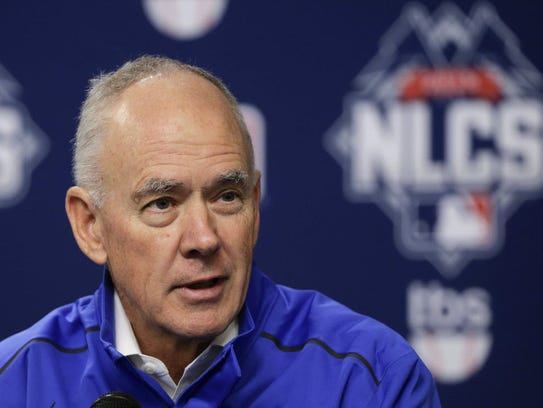 Mets general manager Sandy Alderson.