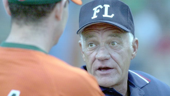 Max McLeary was a longtime baseball umpire in the Frontier League and worked several games at McBride Stadium. McLeary, who died in 2014, was also the general manager of the Cincinnati Steam of the Great Lakes Summer Collegiate League.