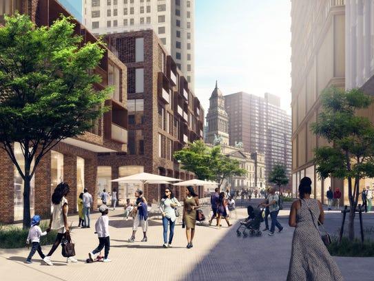 Dan Gilbert's planning Monroe Block project includes