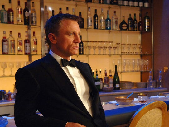 Daniel Craig as James Bond, in Casino Royale.
