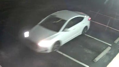 This car is thought to be linked to a burglary in which authorities said property valued at more than $50,000 was stolen early Thursday from Washburn Tech West, 5724 S.W. Huntoon.