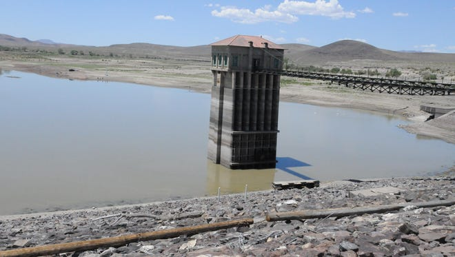 Because of the unusually low water level, use at the Lahontan State Recreation Area on the usually busy Fourth of July weekend will be limited. The only accessible use is at the Churchill County end near the dam. The lake is inaccessible to boats and rangers recommend use of only personal watercraft due to the shallow water.