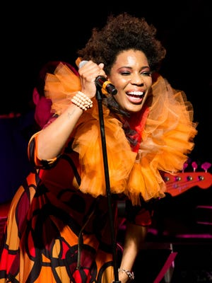 Macy Gray performs at The 13th MusiCares MAP Fund Benefit Concert.