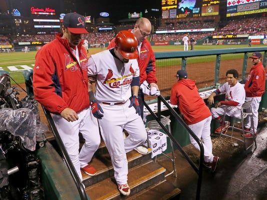 NLCS Giants Cardinals Baseball