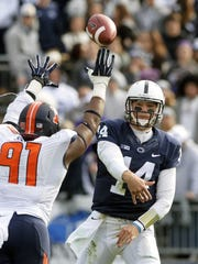 Nothing's been easy for Christian Hackenberg and the Penn State offense the past two seasons. But can it get much better until more recruiting talent arrives?