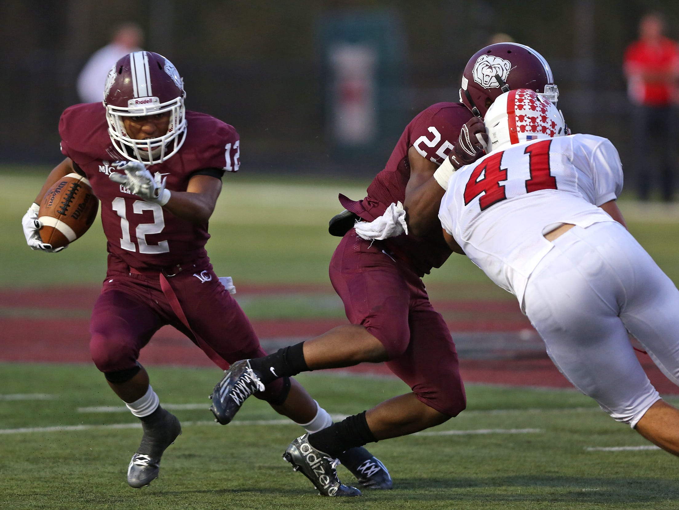 Lawrence Central's Daveon Bell (12) will test Warren Central's defense Friday.