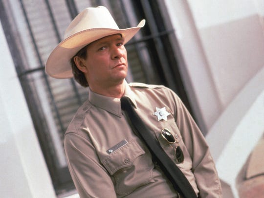 "Chris Cooper had one of his best roles in 1997's ""Lone Star,"" playing a lonely border-town sheriff."
