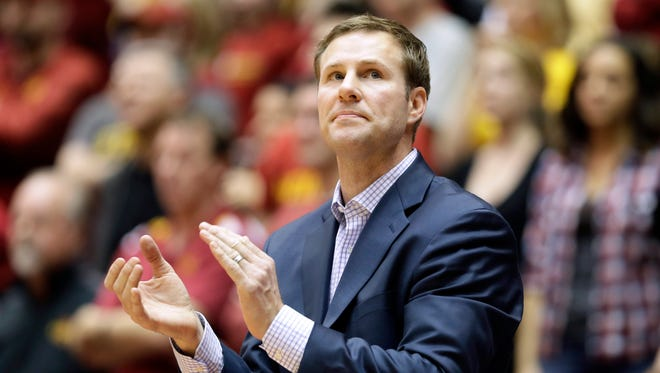 Fred Hoiberg will be inducted into the CoSIDA Academic All-America Hall of Fame this year.