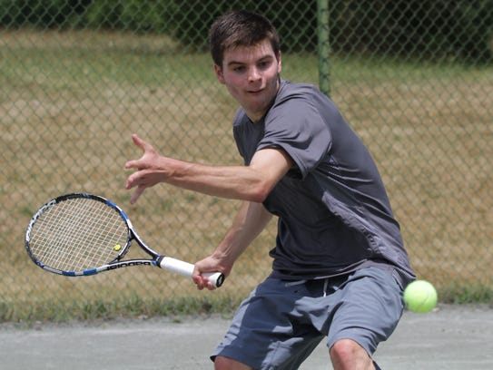 Former Lexington star Jake Youse competes in men's