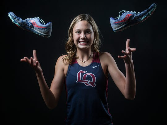 Akemi Von Scherr of La Quinta High School.