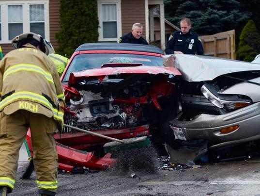 MAN N Car Accident
