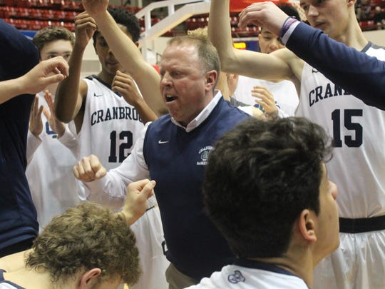 Veteran Cranbrook Kingswood head coach Shane Finney led his team to its first Catholic League championship with a 52-36 victory over Bishop Foley.