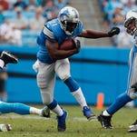 Lions running back Reggie Bush