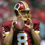Redskins quarterback Kirk Cousins