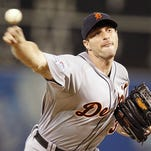 Tigers pitcher Max Scherzer