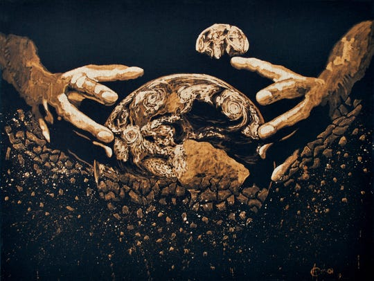 """In our hands"" by Cesar Aguilera"