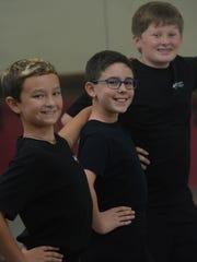 Ventura County Ballet Company students Jonah Tillery,