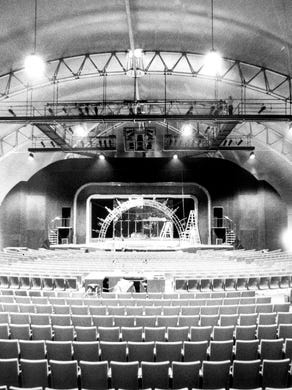 1978: The Americana Music Hall, a 1,500-seat theater, now known as the Showcase Theater.
