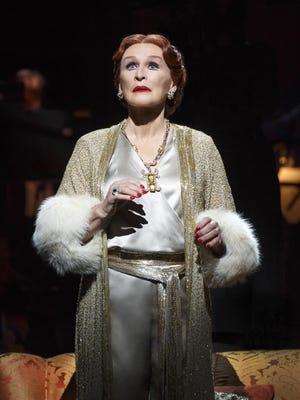 "Glenn Close as Norma Desmond in ""Sunset Boulevard."""