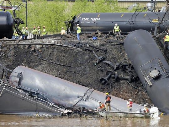 Oil Train Accidents
