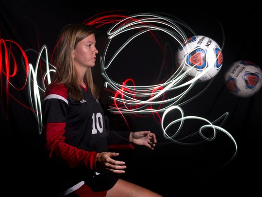 Madelaine Rhodes of Vero Beach High School, all-area girls soccer finalist.