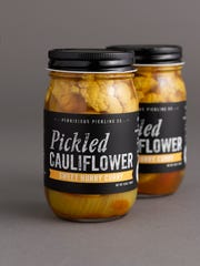 Pickled cauliflower from  Pernicious Pickling Co. in