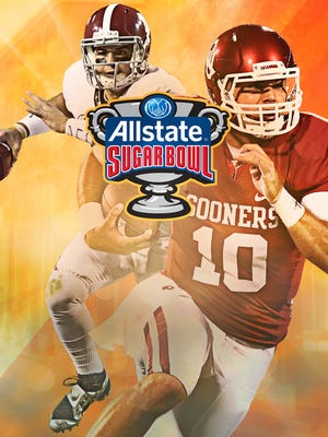 Oklahoma faces Alabama in the Sugar Bowl.