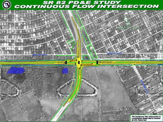 First-in-Florida intersection planned for S.R. 80