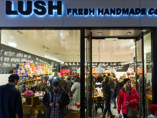 Bath bombs, body wash, shampoo and fragrances is what you'll find at Lush.