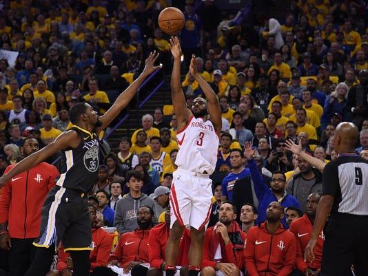 a3e0f198dfd NBA  Playoffs-Houston Rockets at Golden State Warriors