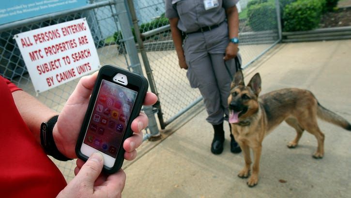 Cellphones are considered contraband at Marshall County Correctional Facility in Holly Springs. K-9 units are now used to detect the electronic devices in addition to drugs and narcotics.