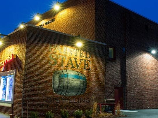 Painted Stave Distilling is located at 106 W. Commerce Street, Smyrna.