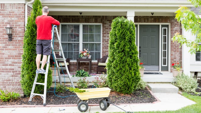 Spring home maintenance should include checking key spots for potential ice and water damage.