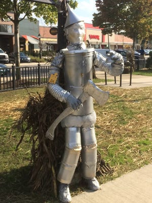 The Tin Man won first place in the adult category.